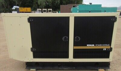 25 Kw Kohler Gm Natural Gas Or Propane Generator Genset - Load Tested - 2012
