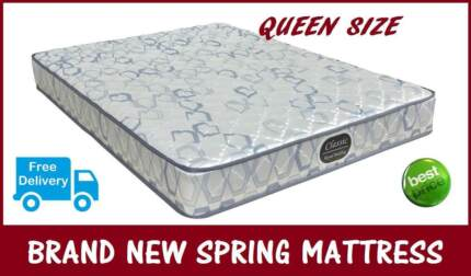 BRAND NEW Queen Size Innerspring Mattress - DELIVERED FREE
