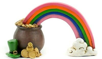Rainbow and Pot of Gold 1pc MI 55806 Irish Miniature Fairy Garden](Rainbow And Pot Of Gold)