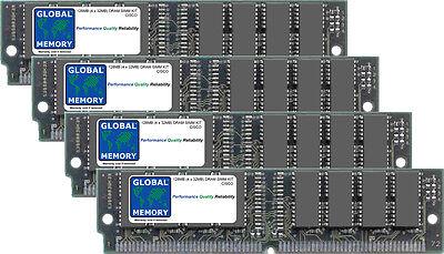 128MB 4x32mb Dram SIMM KIT CISCO 7000/7500 Série routeurs 1 &2 RSP mem-rsp-128m