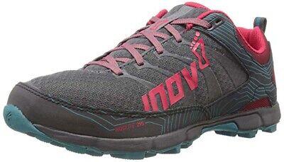 Inov-8 Roclite 295 Women's Grey/Berry/Teal Men's 10 Women's 11.5 Trail Shoes