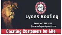 Lyons roofing free estimate