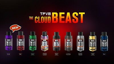 Authentic Smoktech Tfv8 Cloud Beast Tank   Smok   Us Seller Fast Ship