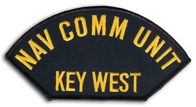 US Naval Communications Unit Key West Florida Cap Patch