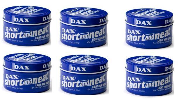 DAX Wachs Blau Kurz Und Neat Hell Haarkleid 99g 6er Pack