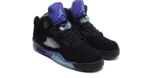 Jordan V Black Grape size 8.5 DS NEW