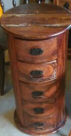 Unique Round Style Drawer Unit - Can Deliver