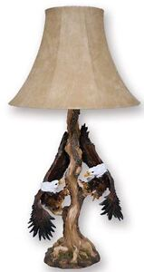 Eagle Flying Table Lamp