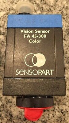 Used Sensopart Fa 45-300-ccc-coocshs4 Color Vision Sensor.