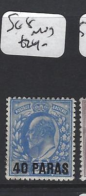 BRITISH LEVANT (P1206B) KE  40 PA/2 1/2D  SG 8   MOG