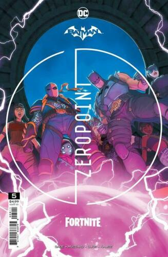 Batman Fortnite Zero Point #1-5   Select A & B Covers   DC Comics 2021 NM