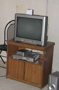 Bundle of T.V , T.V Stand, Night Table and Futon Frame