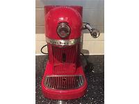 Kitchenaid artisan nespresso coffee machine candy apple red