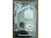 Panasonic RP-DJS400 AEW Headphones with Swivel Mechanism - White