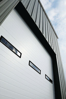 Duro Insulate Amarr 2402 Series 10' To the utmost by 12'Soaring Commercial Fixed costs Garage Door