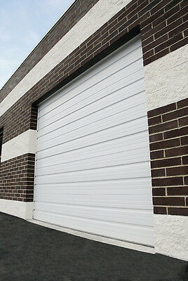 Duro Bear up Amarr 2402 Series 8' Wide by 8' Tall Commercial Skyward Garage Door