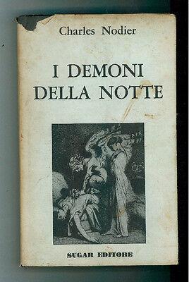 NODIER CHARLES I DEMONI DELLA NOTTE  SUGAR 1968 I° EDIZ. OLIMPO NERO 14