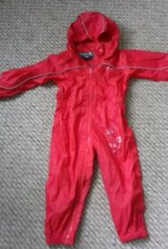 Unisex puddle suit 24-36 months 2 yrs