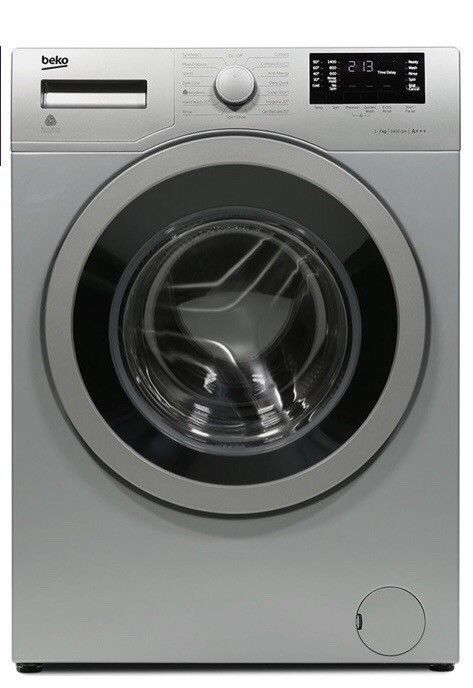 Beko WX742430S Washing Machine -Silver (Used, 18 months old)