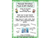 Pencoed Christmas Food and Gift Market 5th December