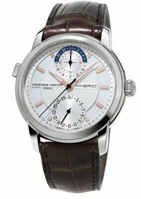 Frederique Constant Men's Hybrid Automatic Calendar 42mm Watch FC-750V4H6