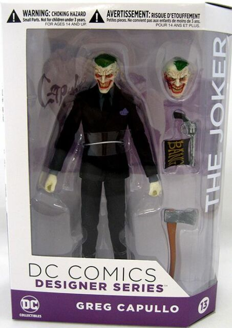 DC COMICS GREG CAPULLO DESIGNER SERIES THE JOKER #13