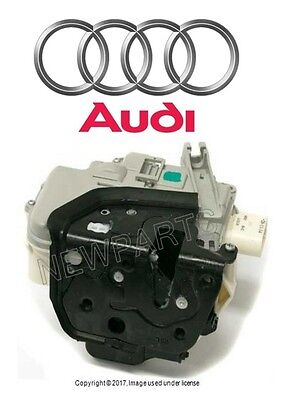 For Audi A3 A6 Quattro Front Driver Left Door Lock Assembly Genuine 4F1837015F