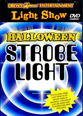 Drew's Famous HALLOWEEN STROBE LIGHT: VIRTUAL DANCE PARTY with CREEPY SOUNDS NEW