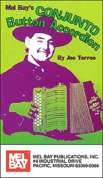 LEARN CONJUNTO BUTTON ACCORDION NEW DVD JOE TORRES
