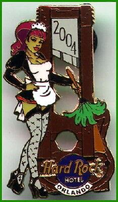 Hard Rock Hotel ORLANDO 2004 HALLOWEEN Horror Nights PINS Dracula Guitar - Hard Rock Halloween Horror Nights
