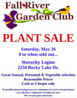 !!! GIANT Annual Plant Sale !!!