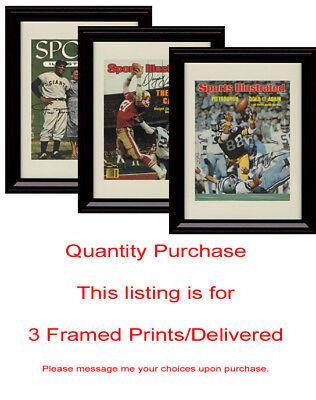 Any 3 Framed Prints/Framed Autograph Prints Delivered