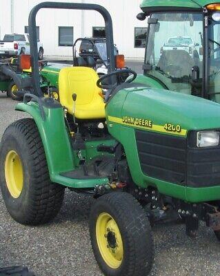 John Deere 4200 4300 4400 Utility Tractors Technical Service Manual Cd Tm1677