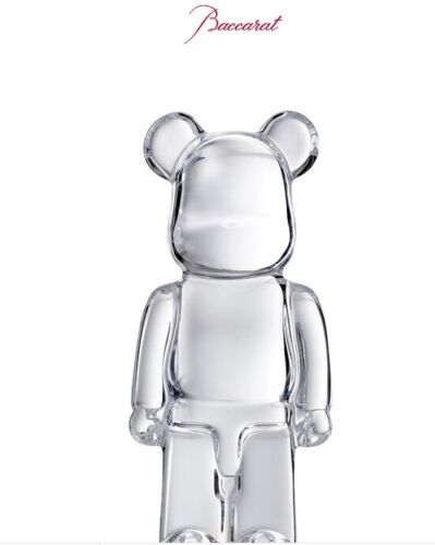Baccarat CLEAR BEARBRICK New!