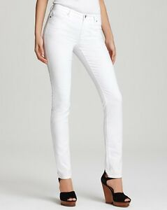 jeans Michael Kors blanc extensible taille 32