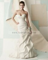 Brand New Strapless Mikaella Wedding Gown - Never Worn!