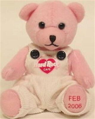 Hard Rock Cafe ASIA Exclusive FEBRUARY 2006 Mini PARTY BEARA Plush Valentine's