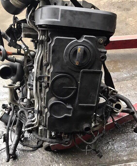 06 Ford Transit 2 4tdi Lwb: Vw Bmn Engine , 2.0 Tdi 170bhp Spares Or Repairs