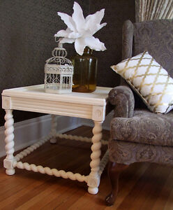 Queen Anne and Jacobean style side tables London Ontario image 2