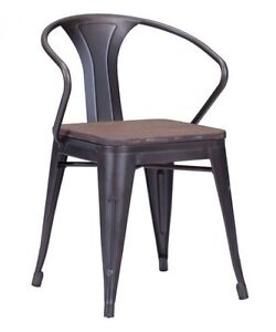RESTAURANT INDUSTRIAL METAL DINING CHAIR DINING TABLE