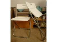 2 Ikea foldable chairs