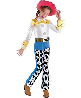 Toy Story - Jessie Deluxe Child Costume w/ Hat and Hair - Jessie Kids Costume
