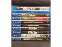 PS4 Game Bundle ( no sports)