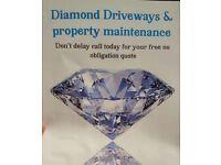 Diamond Driveways & property maintenance