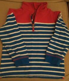 Mini boden sweatshirt, 7-8 years