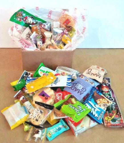 28pc Asian Snack Sampler Box from Japan/Korea/China/Malysia/Hongkong and more..