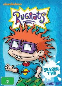 Rugrats-Season-2-Two-Nickelodeon-DVD-R4-NEW-amp-SEALED