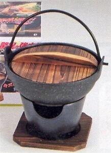 Details about Personal Yosenabe Shabu Shabu Nabe Hot Pot+Stove H-5361