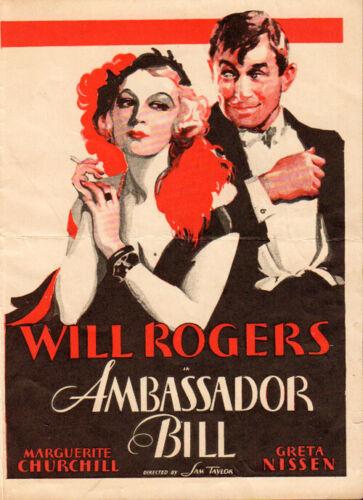 Anna Christie Original  MovieTheater Herald from the 1931Movie
