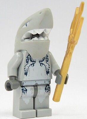 Lego Atlantis Sammler Minifigur Haimann Unterwasser Krieger mit Waffe Neu OVP (Lego Krieger Waffen)